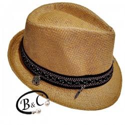 Sombrero de palma manly