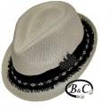 Sombrero de palma manlike