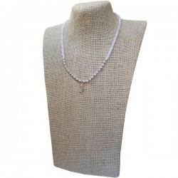 Collar Cuarzo blanco